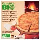 Carrefour Bio Pizza Margherita Cuite au Feu de Bois 310 g