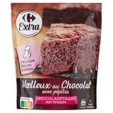 Carrefour Bereiding voor Cake Moelleux Chocolade met Stukjes 500 g