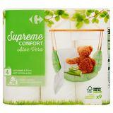 Carrefour Supreme Confort Aloe Vera 4-Laags 9 Rollen
