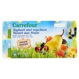 Carrefour Yaourt aux Fruits Maigre 8 x 125 g