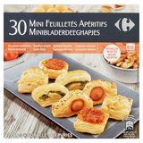 Carrefour 30 Mini Feuilletés Apéritifs 359 g
