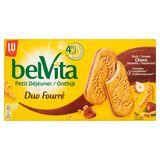 LU BelVita Petit Déjeuner Duo Fourré Choco Noisette 5 Biscuits 253 g