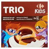 Carrefour Kids Trio Melkchocolade de Super Kids 6 x 6 Stuks 225 g