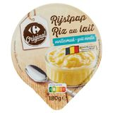 Carrefour Rijstpap Vanillesmaak 180 g