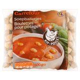 Carrefour Soepballetjes Kip 500 g