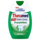 Theramed 2in1 Fresh Mint Tandpasta + Mondwater 75 ml