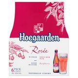 Hoegaarden Rosée Witbier met Frambozen Flessen 6 x 25 cl