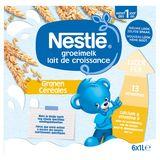 Nestlé Groeimelk Granen vanaf 1 Jaar 6 x 1 L