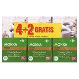 Carrefour Gemalen Koffie Mokka Krachtig 4 + 2 Gratis 6 x 250 g