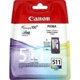 Canon - Inktcartridge CL-511 - Drie-kleuren C/M/Y