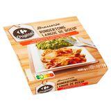 Carrefour Langue de Boeuf Sauce Madère & Purée aux Épinards 400 g