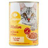 Carrefour Bouchées en Sauce au Poulet et au Canard 400 g