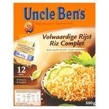 Uncle Ben's Riz Complet 4 x 125 g