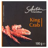 Carrefour Selection King Crab 190 g