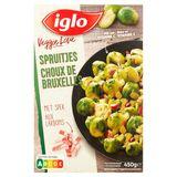 Iglo Veggie Love Choux de Bruxelles aux Lardons 450 g
