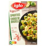 Iglo Veggie Love Spruitjes met Spek 450 g