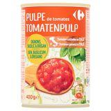 Carrefour Pulpe de Tomates Oignons, Basilic & Origan 400 g