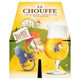 La Chouffe Bière Belge Blonde Bouteilles 4 x 330 ml