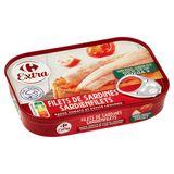 Carrefour Extra Filets de Sardines Sauce Tomate & Petits Légumes 100 g