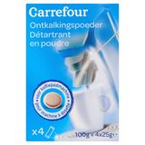Carrefour Ontkalkingspoeder 4 x 25 g