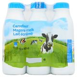 Carrefour Magere Melk 6 x 50 cl