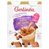Gerlinéa Mon Repas Café Frappé Saveur 4 x 236 ml