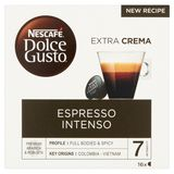 Nescafé Dolce Gusto Espresso Intenso Extra Crema 16 Capsules 112 g