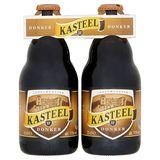 Kasteel 11° Donker Bière Belge 4 x 33 cl