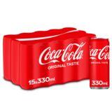 Coca-Cola sleekcan 330ml x 15