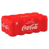 COCA-COLA SLEEKCAN 330ML X 15