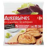 Carrefour Aubergines in Schijven 600 g