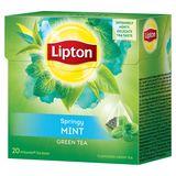 Lipton Pyramide Groene Thee Munt 20 Zakjes
