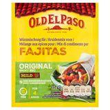 Old El Paso Mélange aux Épices pour Fajitas Original Smoky BBQ Mild 30 g