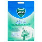 Vicks Bonbons Respir-Aise VapoPlus Eucalyptus 72 g