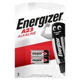 Energizer A23 Piles Alcaline 12V 2 pièces