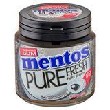 Mentos Gum Pure Fresh Black Mint 50 Pièces 100 g