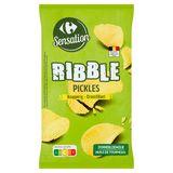 Carrefour Sensation Ribble Pickles Croustillant 200 g