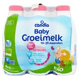 CANDIA BABY Groeimelk Bio Pack 6x1L