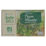 Jardin BiO ētic Biologische Infusie Tijm Munt 30 g