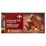 Carrefour Melkchocolade met Pralinévulling 200 g