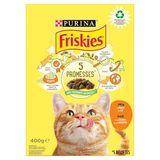 FRISKIES Nourriture Chat Adult Poulet et Légumes 400 g