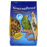Carrefour Voer Grote Parkieten en Papegaaien 1 kg