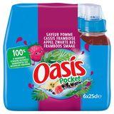 Oasis Pocket Appel Cassis Framboos 6x25cl