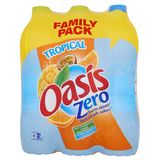 Oasis Tropical Zero Family Pack 6 x 2 L