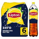 Lipton Iced Tea Thé Glacé Pétillant Original Zero Sans sucre  6x1.5 L