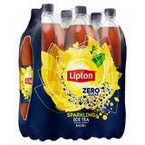 Lipton Iced Tea Suikervrije Bruisende Ijsthee Original Zero 6 x 1.5 L