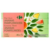 Carrefour Groene Thee Ananas Pompelmoes  25 x 2 g