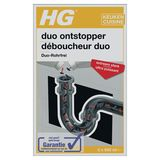 HG Tuyau Déboucheur Duo Extra Fort 2 x 500 ml