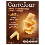 Carrefour Gevulde Flensjes Comté Notensmaak 65 g