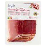 Carrefour Zwarte Woudham BGA 16 Sneden 200 g